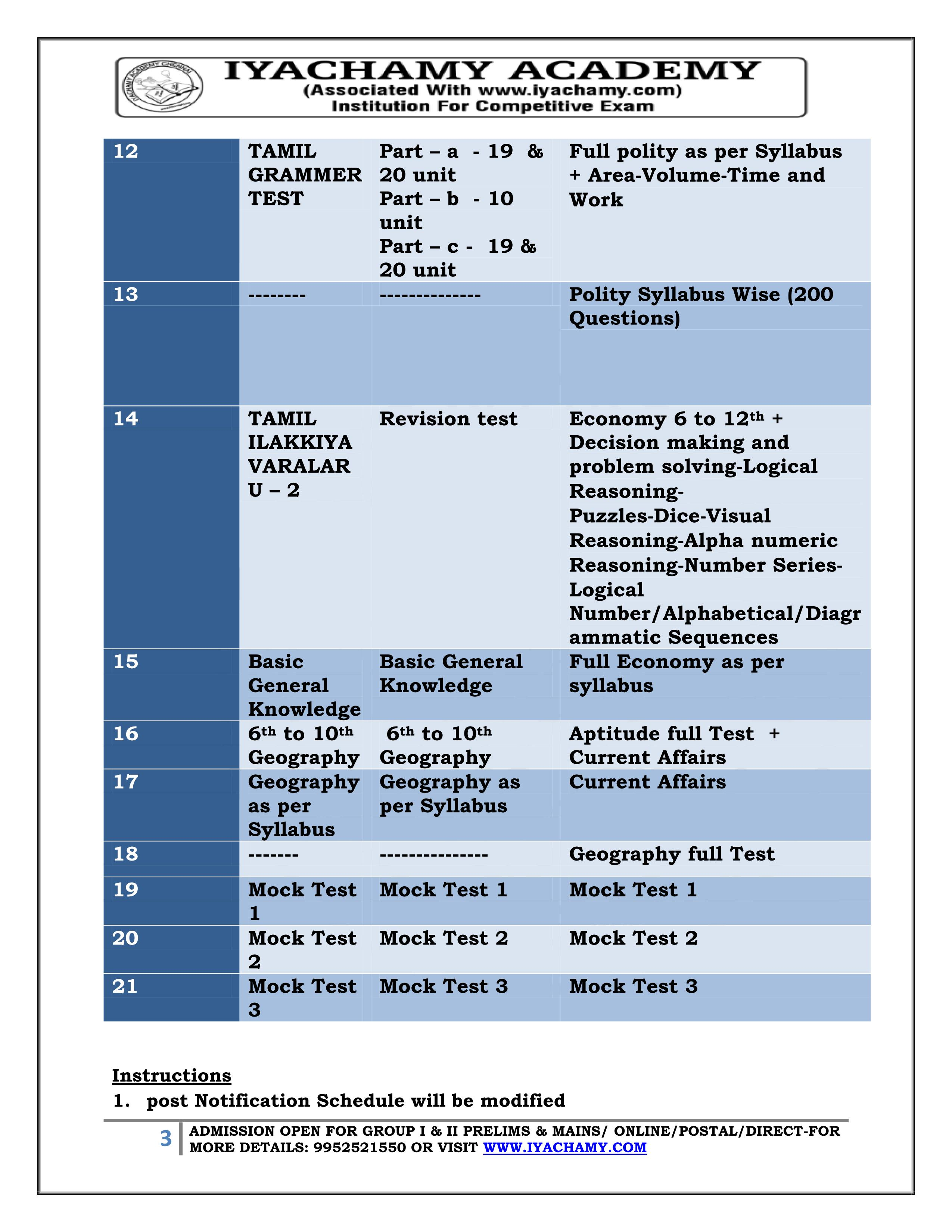 குருப் 2 முதனிலைத்தேர்வு மற்றும் முதன்மைத் தேர்வு  பாடத்திட்டம் மற்றும் படிக்க வேண்டிய புத்தகங்கள்