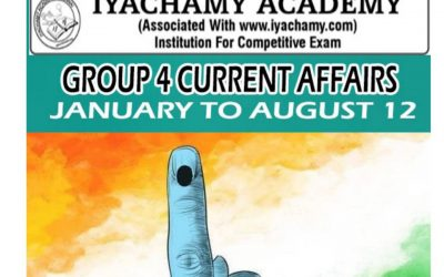 GROUP 4 CURRENT AFFAIRS IN 40 PAGES ENGLISH – JAN TO AUGUST